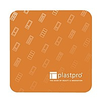 "Full Color 45 Pt. 3.5"" Square Pulpboard Coaster"