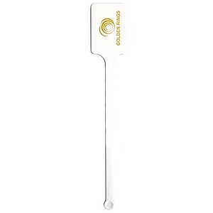 Upright Rectangle Topped Drink Stirrer 6 1/4""