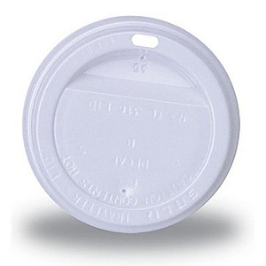 10 Oz. Hot/Cold Paper Cup Traveler Lid