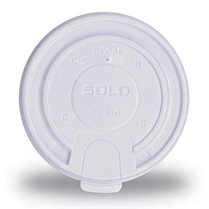 10 Oz. Hot/Cold Paper Cup Tear Tab Lid