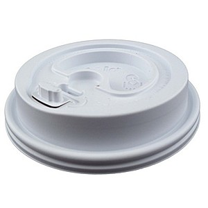 12 Oz. To 20 Oz. White Insulated Paper Cups Lid