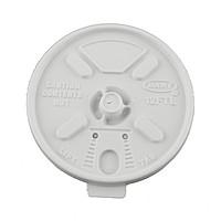 White 10 Oz. Foam Cup Tear Tab Lid