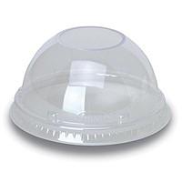 Clear 16 Oz. & 20 Oz. Foam Cup Dome Lid