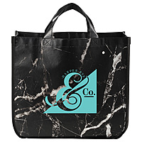Marble Laminated Non Woven Tote