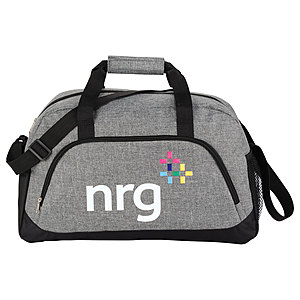 "18.5"" Medium Graphite Duffel Bag"