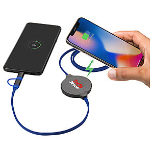Gamma Wireless Charging Pad With 3 In 1 Cable