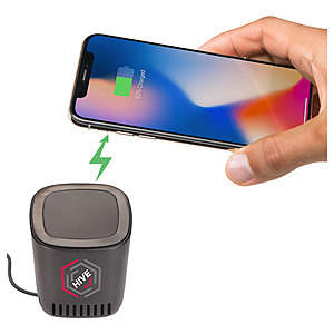 Jack Bluetooth Speaker And Wireless Charging Pad