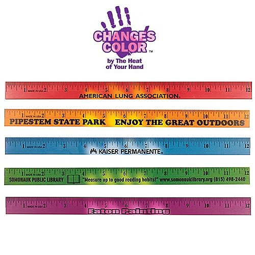 "Photo of 12"" Mood Wood Ruler"