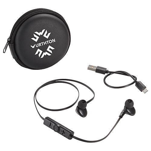 Photo of Sonic Bluetooth Earbuds And Carrying Case