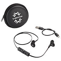 Sonic Bluetooth Earbuds And Carrying Case