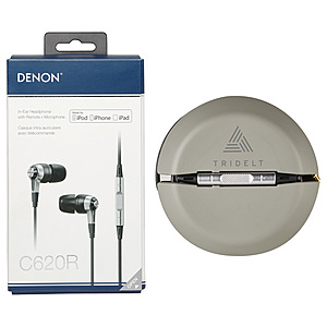 Denon Ah C620 R Wired Earbuds With Music Control