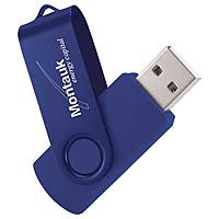 Rotate 2 Tone Flash Drive 1 Gb