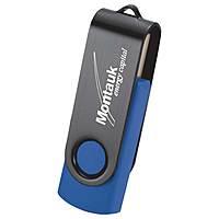 Rotate Black Clip Flash Drive 4 Gb