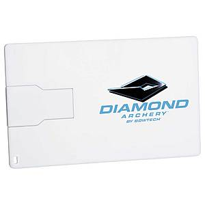 Slim Credit Card Flash Drive 2 Gb