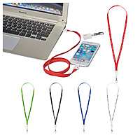 2 In 1 Charging Cable Lanyard