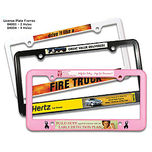License Plate Frame 4 Holes,Full Color Digital
