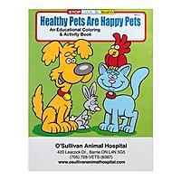 Healthy Pets Are Happy Pets Coloring Book
