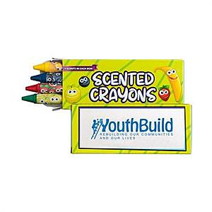 4 Pack Scented Crayons