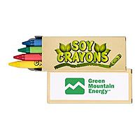 4 Pack Soy Crayons