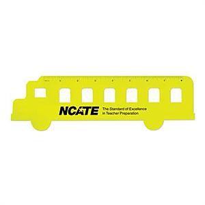 Fun School Bus Shaped Ruler