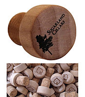 Bordeaux Cork Wine Bottle Stopper