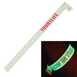 Glow Vinyl Wristband