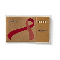 Awareness Ribbon Adult Coloring Book & 6 Color Pencil Set To Go