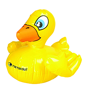 "16"" Inflatable Rubber Duckie"