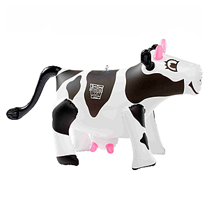 "17"" Inflatable Cow"