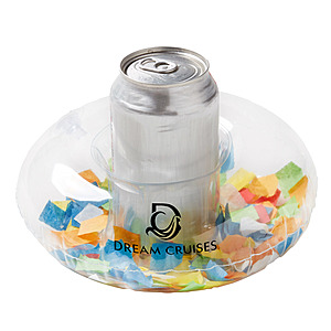 Inflatable Confetti Filled Coaster