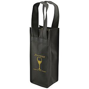 1 Bottle Wine Tote 4.5 X 3.5 X 11