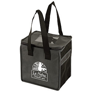 2 Tone Lunch Tote 8 X 6 X 8.5