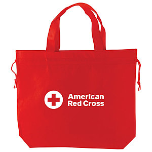 """Red Universal Tote 16.5"""" X 4.25"""" X 13.5"""""""