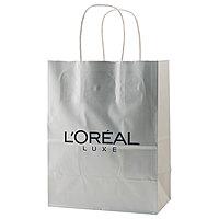Gloss Coated Shopping Bags 8 X 4.75 X 10.5
