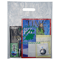 Clear Patch Handle Bag 2.5 Mil. 12 X 15