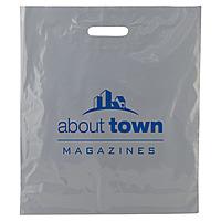 Color Patch Handle Bags 2.5 Mil. 16 X 18 + 4