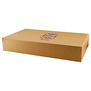 Pop Up Apparel Box   Natural Kraft 19 X 12 X 3