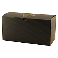 Fold Up Gift Box   Color Tinted Kraft 9 X 4.5 X 4.5