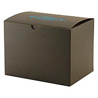 Fold Up Gift Box   Color Tinted Kraft 6 X 6 X 4
