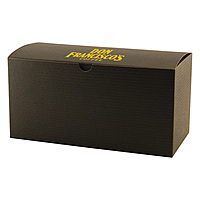 Fold Up Gift Box   Color Tinted Kraft 12 X 6 X 6
