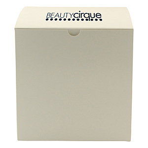 Fold Up Gift Box   Frost White Gloss 7 X 7 X 7