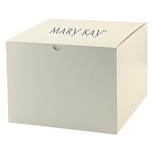 Fold Up Gift Box   Frost White Gloss 8 X 8 X 6