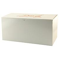 Fold Up Gift Box   Frost White Gloss 15 X 7 X 7
