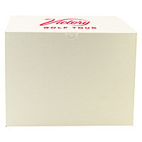 Fold Up Gift Box   Frost White Gloss 12 X 12 X 9