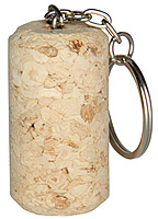 Wine Cork Keyring