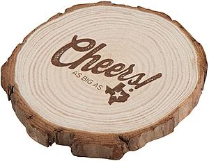 Natural Wooden Coaster
