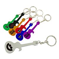 Guitar Bottle Opener W/Key Chain
