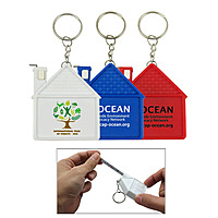 House Tape Measure W/Key Chain