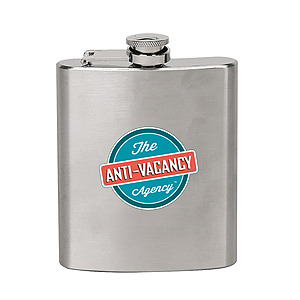 7 Oz. Stainless Steel Liquor Flask Bpa