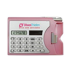 Calculator W/Card Holder